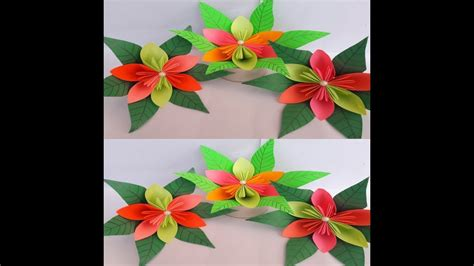 diy paper flowers  easy  simple paper craft