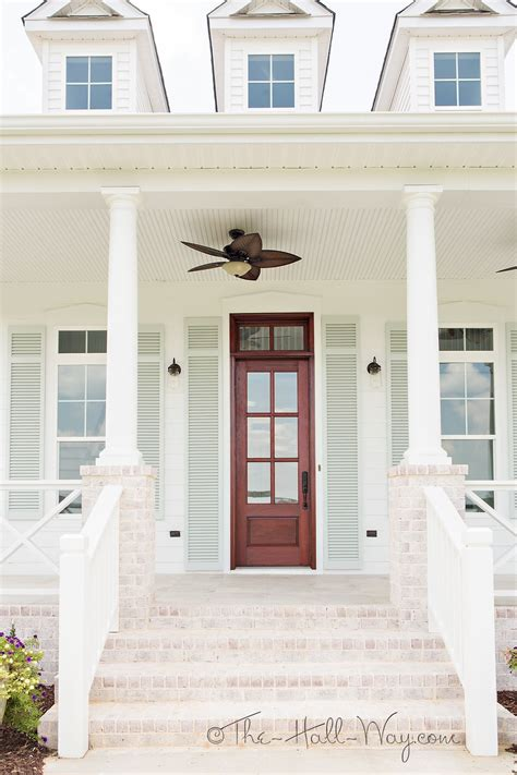 southern living eastover cottage exterior home