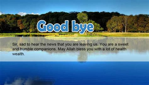 farewell message  boss goodbye quotes wishes