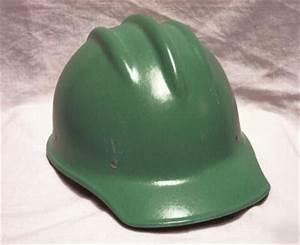 Green Light Bullard 502 Green Fiberglass Hard Hat Mint Unused
