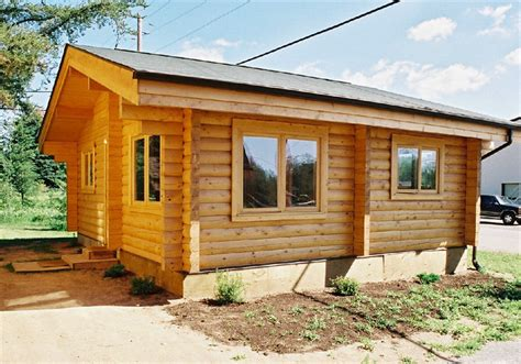 Small Log Cabin Sale