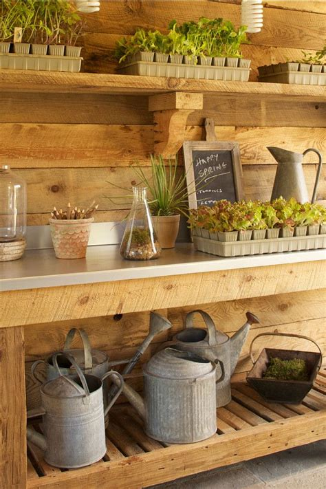 Images About Garden Shed Interiors Pinterest