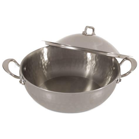 mauviel covered saute pan