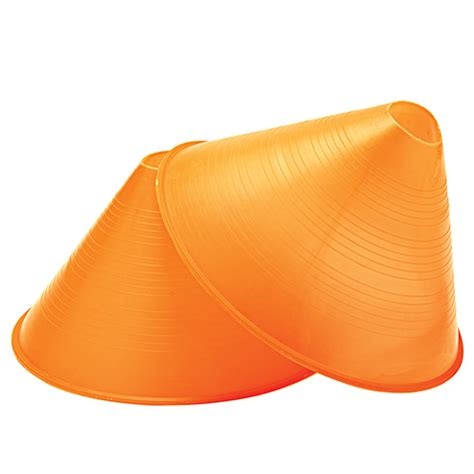 large profile cones yellow head coach sports