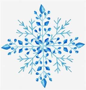 Snowflake Watercolor Painting - Watercolor Snowflake ...