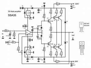 2sc5200 2sa1943 Amplifier Circuit Diagram  2020