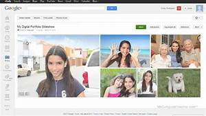 How to add a Photo Slideshow using Google Plus in Google ...