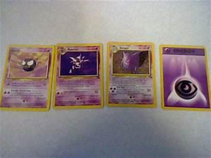 Free: Gastly, Haunter, HOLO Gengar pokemon card evolution ...