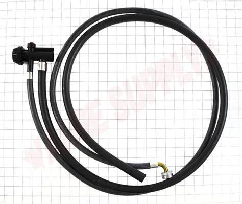 wga ge dishwasher unicoupler hose assembly amre
