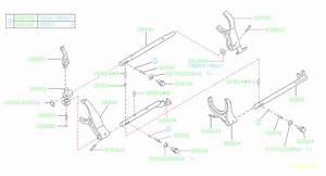 Subaru Manual Transmission Parts Diagram