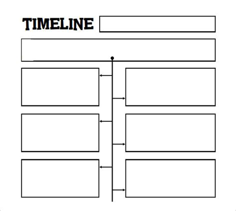 timeline templates  kids samples examples