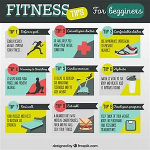 premium vector fitness tips for begginers