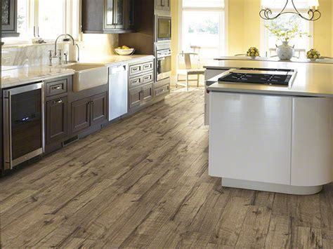 "Shaw Fired Hickory Pecan 6"" x 24"" Wood Look Porcelain Tile"