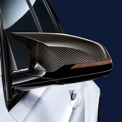 shopbmwusa com bmw replacement m performance carbon fiber mirror caps