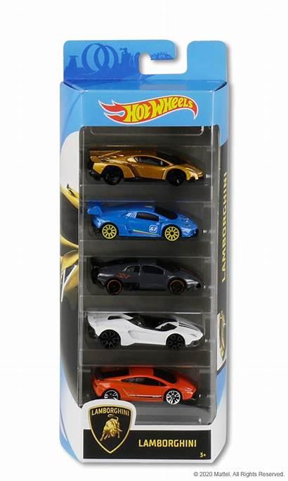 Wheels Lamborghini Packs Mattel Pack Carros Toys