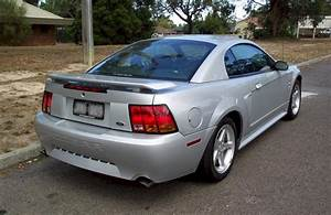 Satin Silver 2002 Ford Mustang SVT Cobra Coupe - MustangAttitude.com Photo Detail