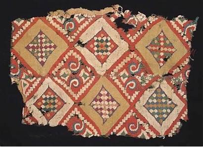 Islamic Textile Fabric Textiles Century Geometric Fragment