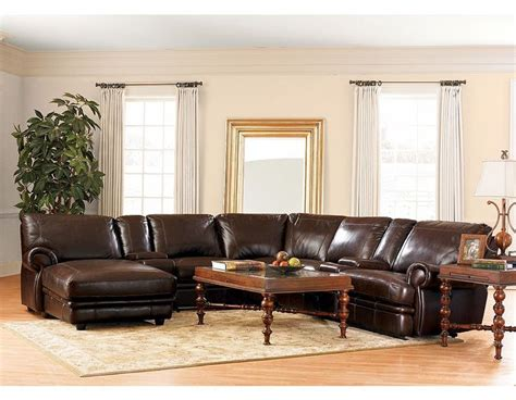 havertys leather sectional sofa haverty s leather reclining sectional for the home