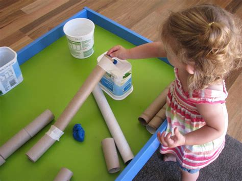 play dough amp cardboard learning 4 352 | Play Dough Cardboard Tubes3