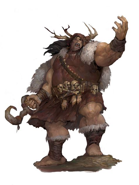 Ogre Boss - Monsters - Archives of Nethys: Pathfinder 2nd ...