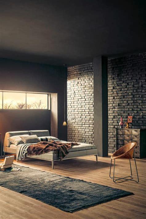 mur chambre le mur en brique décors spectaculaires