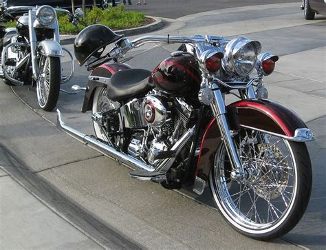 36 Best Images About Bad Ass Softails On Pinterest
