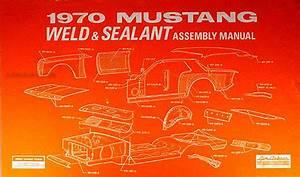 1970 Ford Mustang Mercury Cougar Factory Wiring Diagram Original