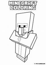 Minecraft Coloring Pages Villager Own Printable Fan Create Printables sketch template