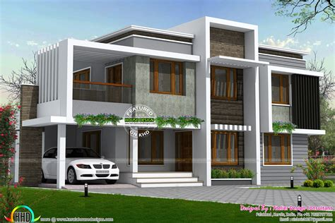 Simple Type Of Contemporary Home In 2558 Sq-ft