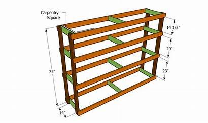 Shelves Garage Plans Shelf Shelving Build Building