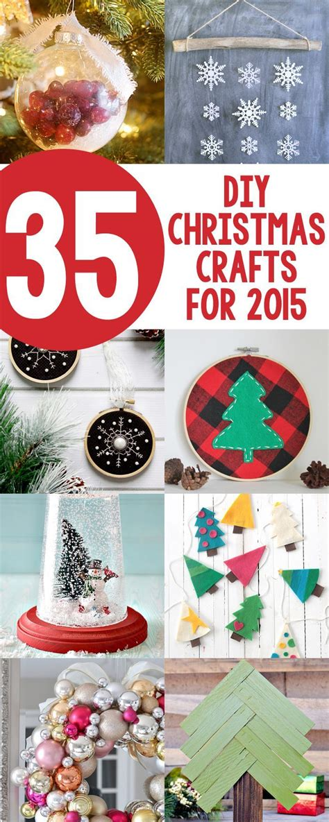35 diy christmas crafts for 2015 new christmas projects