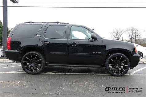 gmc yukon   lexani css wheels exclusively