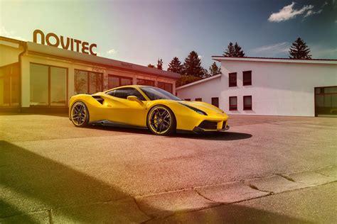 Time For Power With The Novitec Rosso Ferrari 488 Gtb