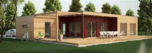 maison ossature bois contemporaine t4 plain pied 91m2 With delightful la maison des artisans 3 maisons contemporaines constructeur maison contemporaine