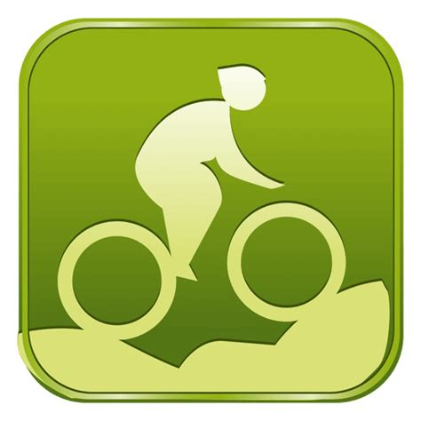 Square cosmetic bottle label presentation. Cycling mountain bike square icon - Transparent PNG & SVG ...