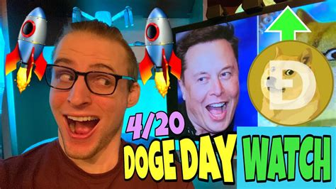 Elon Musk Dogecoin Tweet Coming For 4/20 Doge Day? ⚠️ ...