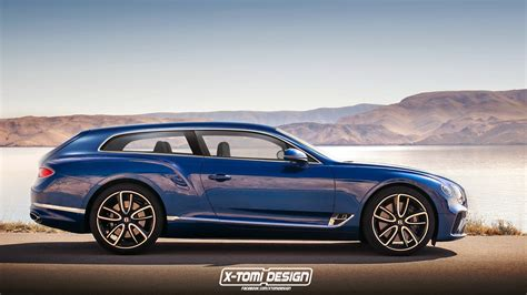 new bentley new bentley continental gt shooting brake pickup and