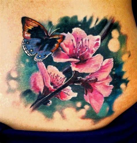 realistic flower tattoos   flower tattoos