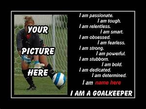 Custom Soccer Poster Personalized Daughter Wall Art Soccer ...