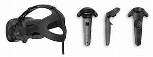 Htc Vive Headset  L    Vive Controllers   U0026quot Wands
