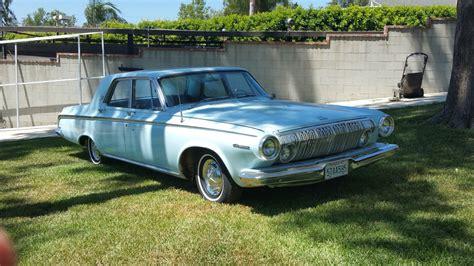 1963 Dodge Polara 4-door Sedan