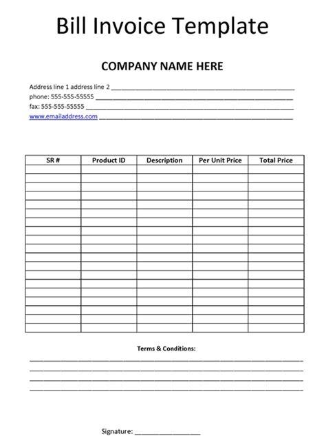 professional grade  invoice templates  ms word