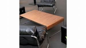 Table De Salon Moderne : table basse originale et moderne placage noyer atoka gdegdesign ~ Preciouscoupons.com Idées de Décoration