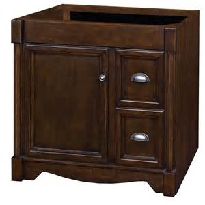 shop allen roth moxley 36 in x 21 1 2 in cocoa traditional bathroom vanity at lowes