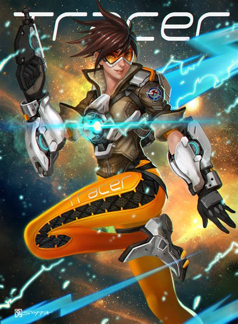 Tracer By Manusia No 31 On Deviantart
