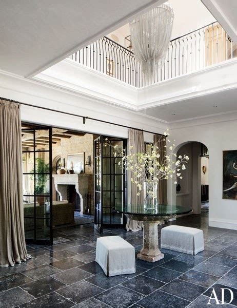 Indoor Fireplace Coffee Table by Tom Brady And Gisele Bundchen S Timeless Los Angeles Mansion