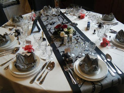 deco de table theme cinema organisation mariage all events 224 armenti 232 res