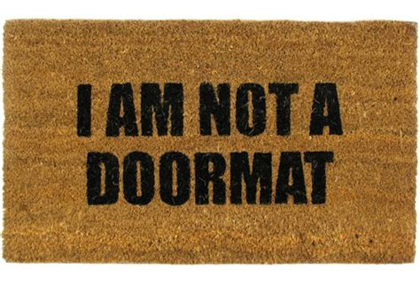 Christian Doormat by 148 Are You A Christian Doormat