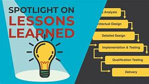 Spotlight On Lessons Learned  Project Management Lessons