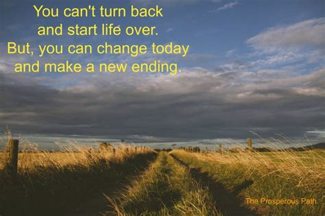 Changing Paths Life Quotes